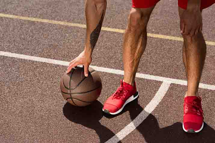 Can I use my basketball shoes for running?